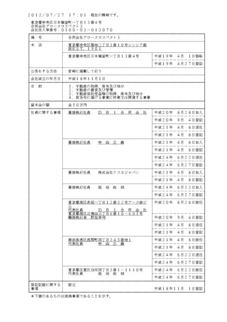 中山正義代表合同会社アロークロスペクト3法人登記簿_page-0001.jpg